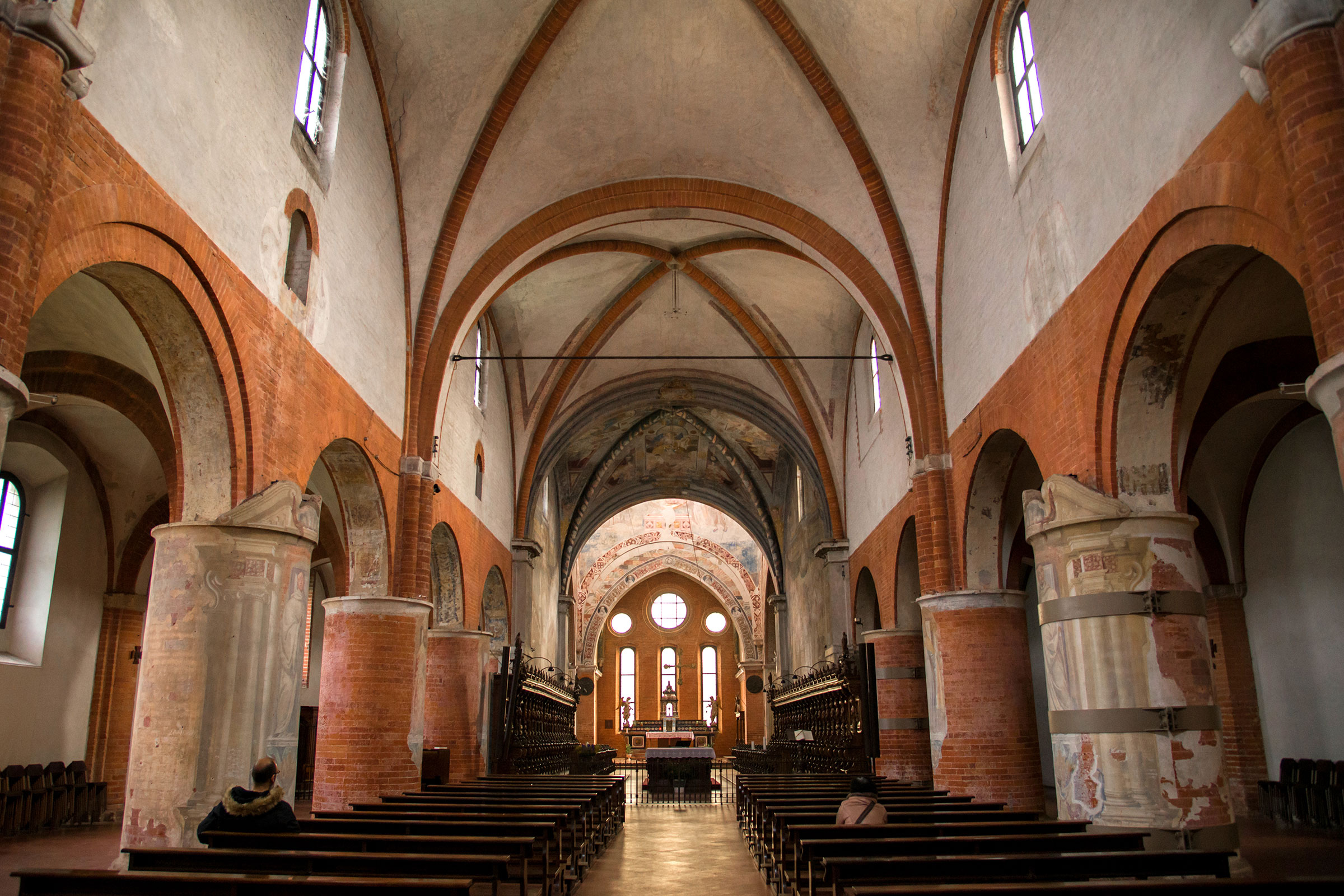 Chiaravalle The Abbey interior