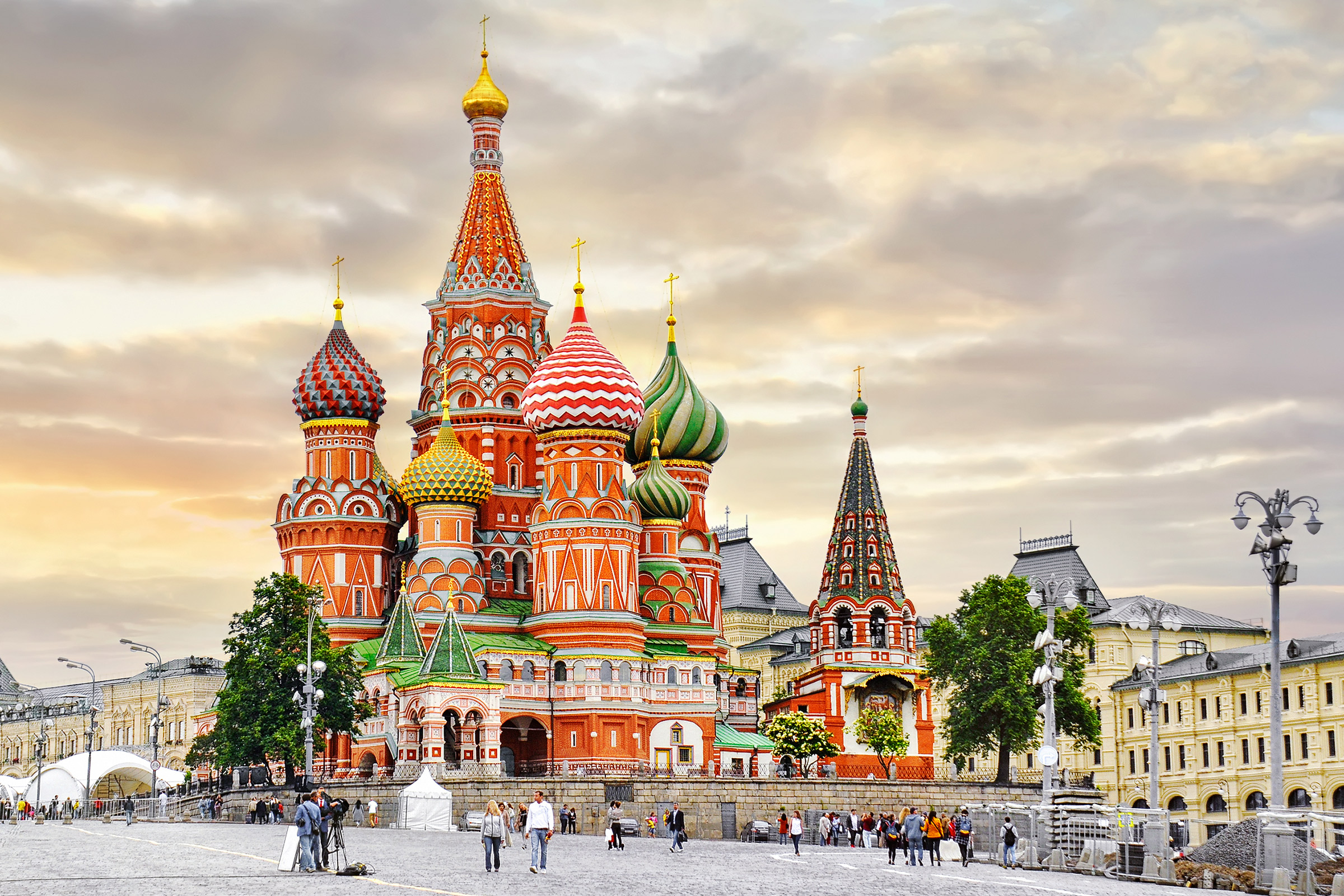 Russia Moscow Cathedral of Vasily the Blessed