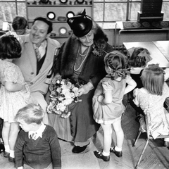 Maria Montessori with Children 09