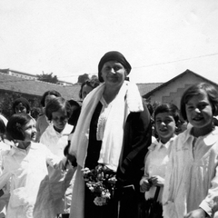 Maria Montessori with Children 12