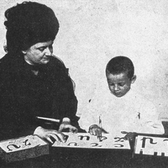 Maria Montessori with Children 14