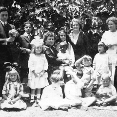 Maria Montessori with Children 16