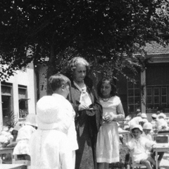 Maria Montessori with Children 17