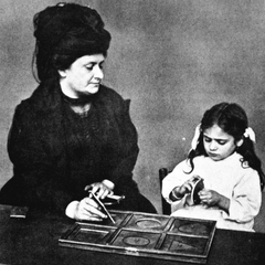 Maria Montessori with Children 18