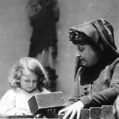 Maria Montessori with Children 19