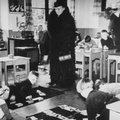 Maria Montessori with Children 21