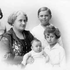 Maria Montessori with Children 22