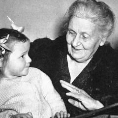 Maria Montessori with Children 24
