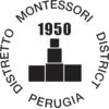 Perugia Montessori District Logo