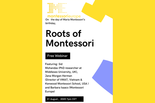 Roots of Montessori Flyer